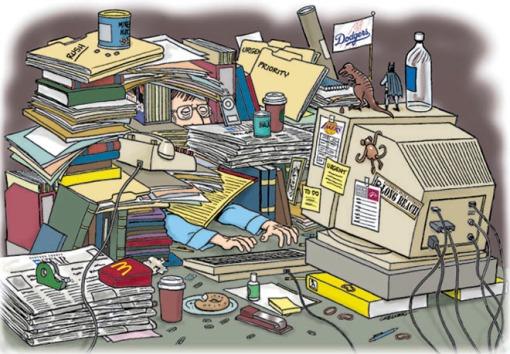 messy info